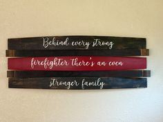 Thin Red Line Firefighter Family Saying Firefighter Wife Quotes, Firefighter Cross, Firefighter Home Decor, Firefighter Apparel, Firefighter Family, Firefighter Gifts, Volunteer Firefighter, Firefighters Wife, Fire Crafts