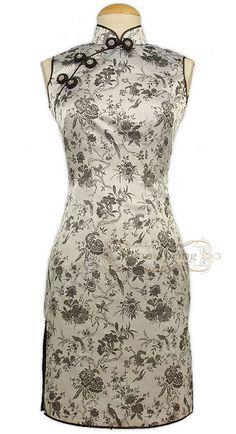 Chinese Qipao inspired dress