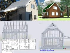 Cabin, House Styles, Projects, Home Decor, Log Projects, Cabins, Cottage, Interior Design, Home Interior Design