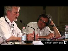 Jan Lauwers from Needcompany talking about the way he works and sees things at the Biennale Teatro 2013 in Venice, Italy