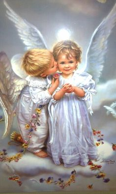Angels - Sandra Kuck.    /This is so very cute EL./