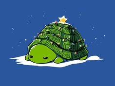 Warm and Cozy tee shirt. I love the Turtle designs on this site!!!