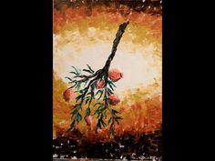 """Ζωγραφίζουμε """"ρόδια"""", μάθημα 9ο... - YouTube Diy And Crafts, Christmas Crafts, Youtube, Painting, Art, Art Background, Painting Art, Kunst, Paintings"""