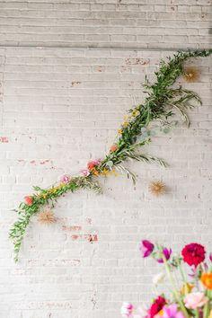 Ruffled - photo by Tina Jay Photography http://ruffledblog.com/bright-and-modern-vow-renewal   Ruffled