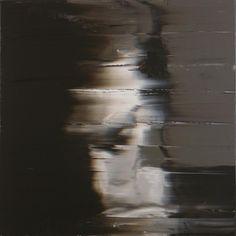 Andy Denzler - Line Up, 2007, Acrylic on canvas, 80 x 180 cm