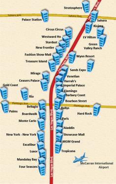 awesome map of strip of las vegas holidaymapq in 2019 las vegas rh pinterest com