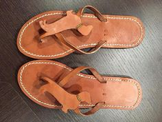 I need a pair of these.....Dachshund Flip Flops Shoes Leather gift handmade by Anvali on Etsy