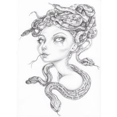 A graphite drawing of #gorgon for #mabsdrawlloweenclub by Sam Crow Creature 3d, 3d Illustrations, Curious Creatures, Graphite Drawings, Crow, Art Dolls, Instagram, Raven, Crows