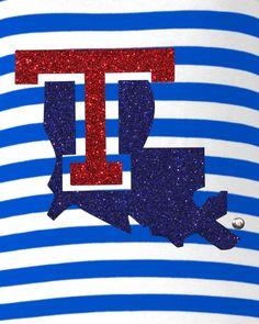 Louisiana Tech Bulldogs | Team Fashion Apparel | meesh & mia Bulldogs Team, Louisiana Tech, Lsu, Artsy Fartsy, Red And Blue, College Life, University, Cricut, Sports