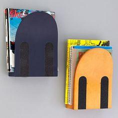 skateboard book holders