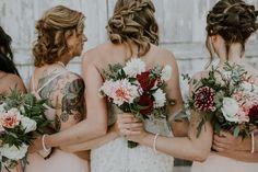 dairyland wedding bridal party seattle wedding photographer