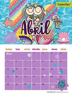 Notes, School, Flower, Calendar For Kids, School Calendar, Print Calendar, Learning Activities, Papa Noel, Boss