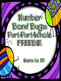 This activity can be used in so many different ways! This includes all sums to 10 to create number bonds. Have students piece together the pairs to create equations equal to ten. You can have them figure out the sum/whole or the missing addend or part.