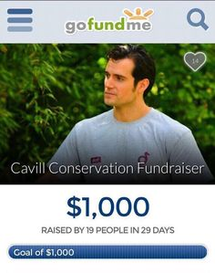 #HenryCavill brings the best in us. That's why we're thrilled to share that ... WE REACHED OUR FUNDRAISING GOAL! But! Our fundraiser isn't over yet! It ends on 5/31, 11:59pm EST. #HenryCavill #Superman #ManfromUNCLE #ManofSteel #BatmanvSuperman