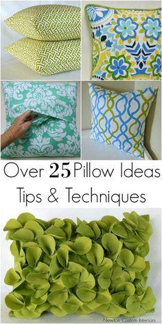 How To Make Pillows - Newton Custom Interiors