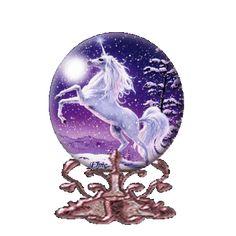 Globes licorne globes
