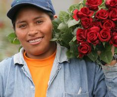 Fairtrade certified flower farms ensure safety and good conditions for workers, important when employees are often vulnerable young women. Women's Rights, Human Rights, Flower Farm, Change The World, Fair Trade, Young Women, Farms, Equality, Safety