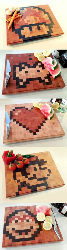 Pixeliza tu cocina.