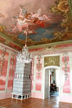 baroque Rundale palace