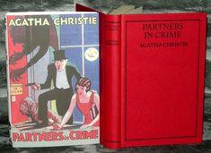 Agatha Christie -Partners In Crime -Facsimile Edition, HB/DJ. Partners In Crime, Agatha Christie, Dj, Novels, Books, Ebay, Vintage, Libros, Book