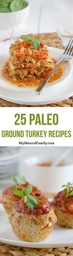 25 Paleo Ground Turkey Recipes