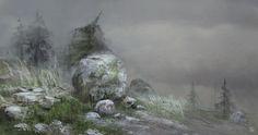 Stone, Marta Grajper on ArtStation at https://www.artstation.com/artwork/wP4qO