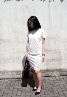 http://www.mesmerizefashion.eu/2016/05/crisp-white.html New post on blog! 1.https://www.therushinghour.co.uk/collections/undivided/products/petronie-laser-cut-top-white?variant=13754599687 2.https://www.therushinghour.co.uk/collections/undivided/products/sashya-laser-cut-skirt-white 3.https://www.hieleven.com/collections/all-products/products/flap-closure-handbag 4.http://www.klarf.com/collections/mesh-bracelet/products/all-black