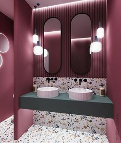 34 Beautiful Bathroom Color Scheme Ideas for Small & Master Bathroom – housedecor Interior Design Boards, Restaurant Interior Design, Bathroom Interior Design, Home Interior, Townhouse Interior, Studio Interior, Interior Livingroom, Apartment Interior, Interior Ideas