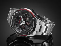"""Under the concept of """"Layered Toughness""""! #Gshock New metal body structure #Gsteel"""
