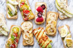 With the Super Bowl just around the corner, I figured we should start planning. Let's start with some light bites and incorporate some super foods, because face it, you know on the flipside there is going to be a good share of ooeey-gooey cheesey madness. For today, I'm covering the healthier bites like these sweet and savory crostinis. To keep things simple I made a whipped cottage cheese since it's a great canvas for flavoring while being packed with protein and low in calories....