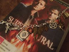 Supernatural Charm Bracelet by WitzendDesigns on Etsy, $20.00