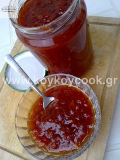 Cooking Jam, Tomato Jam, Appetisers, Marmalade, Healthy Tips, Soul Food, Nutella, Sweet Recipes, Cookie Recipes