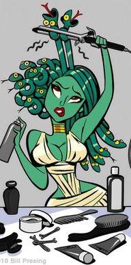 My girl, Medusa.