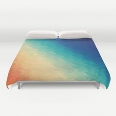 Duvet Cover Warm to Cool Texture Duvet by 2sweet4wordsDesigns