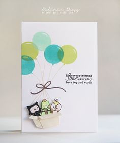 cute idea - try with tremendous treats?, actual: Mama Elephant Challenge - Love Everyday