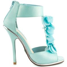 Bloom - Blue Satin by Something Blue By Betsey Johnson