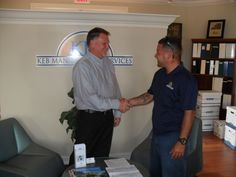 Checking in with a Property Manager - we love our customers! #mainscape