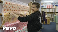 Hailee Steinfeld - Embroidery Patch Making (Vevo LIFT): Brought To You B...