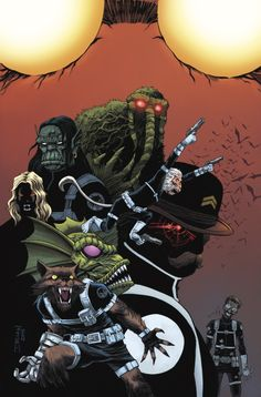 Howling Commandos of S.H.I.E.L.D.#1 Variant - Declan Shalvey, Colours - Jordie Bellaire
