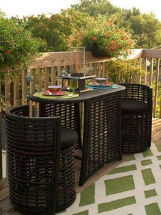 Patio Furniture For Small Patios - Small Deck Decorating Small Patio Patio Deck Decorating How To Choose Patio Furniture For Small Spaces Overstock Com Small Deck Decorating Small Balco.