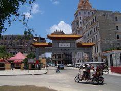 Chinatown in Havana.