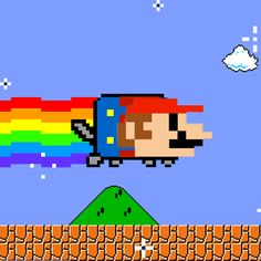 Stupid Nyan cat you ruined the classic
