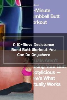 Melissa Bender A 10-Move Resistance Band Butt Workout You Can Do Anywhere | SELF Melissa Bender