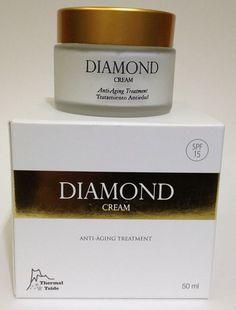 Aloe vera - Cosmética natural, productos de belleza,Aloes de Canarias: Crema Diamond Tratamiento global anti-edad