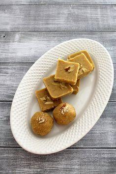 Magaj Recipe | Gujarati Magas recipe | Besan burfi recipe