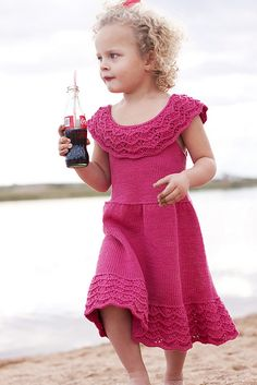 Ravelry: Phoebe's Party Dress pattern by Joanna Johnson