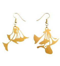Ginkgo Biloba Gold Earrings | Jewelry Earrings | Biodidactic | Scoutmob Shoppe | Product Detail
