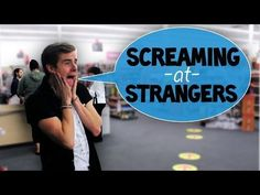Screaming at Strangers Connor's New Video! 10/28/13