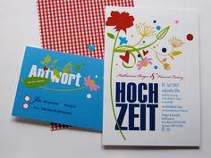 Hochzeitseinladung 01 von Liebesdienst auf DaWanda.com