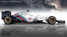 Williams Martini Racing FW38/Mercedes